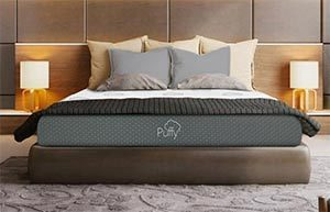 Memory Foam Mattress King Frame